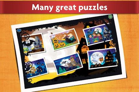 jigsaw puzzles halloween game for kids - Halloween Kid Games Online