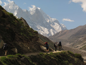Photo: Day 5 - Moving towards Bhojbhasa