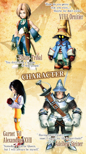 FINAL FANTASY IX for Android - screenshot