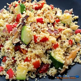 Summer Vegetable Couscous Salad