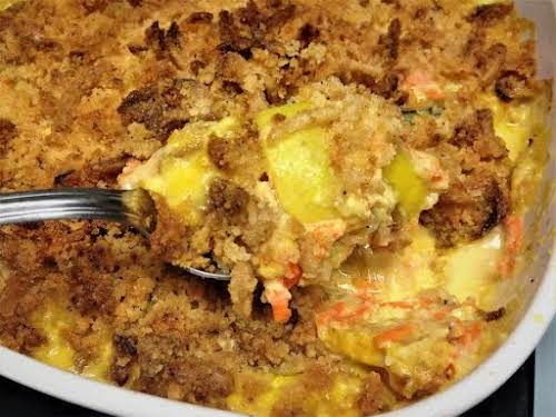 """Yellow Squash Casserole """"I love yellow squash and this is a very..."""
