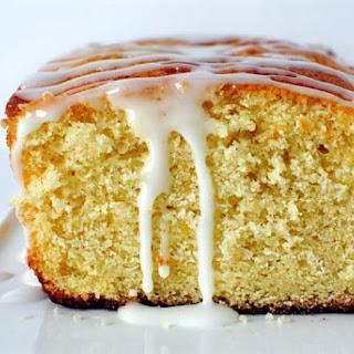Paleo Lemon Bread with Lemon Glaze
