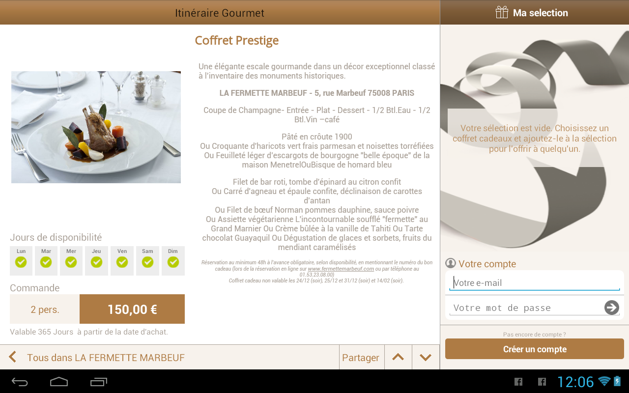 Itin raire gourmet android apps on google play - Up cheque gourmet ...