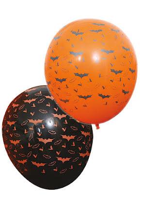 Fladdermusballonger, 6 st
