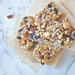 Blueberry Nut + Seed Bars.