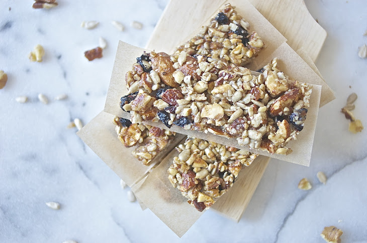 Blueberry Nut + Seed Bars