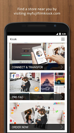 Fujifilm Kiosk Photo Transfer Screenshot