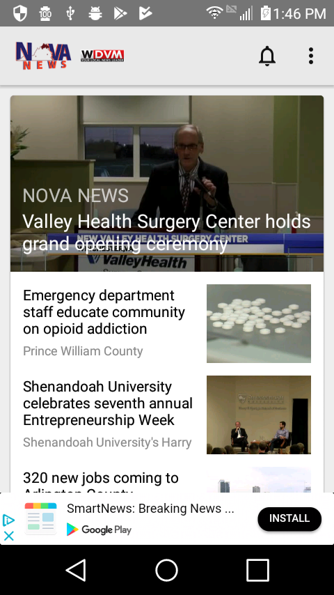 NOVA News- screenshot