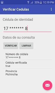Verificar Cédulas Ecuatorianas - náhled
