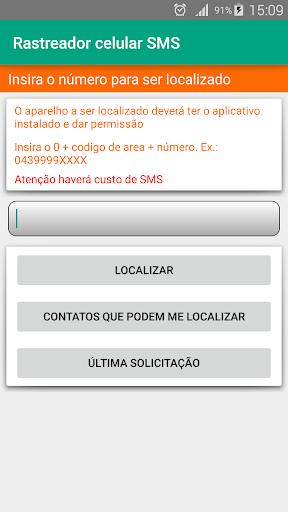 Rastreador Celular SMS