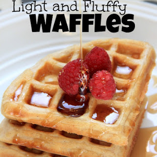 Light and Fluffy Waffles Recipe