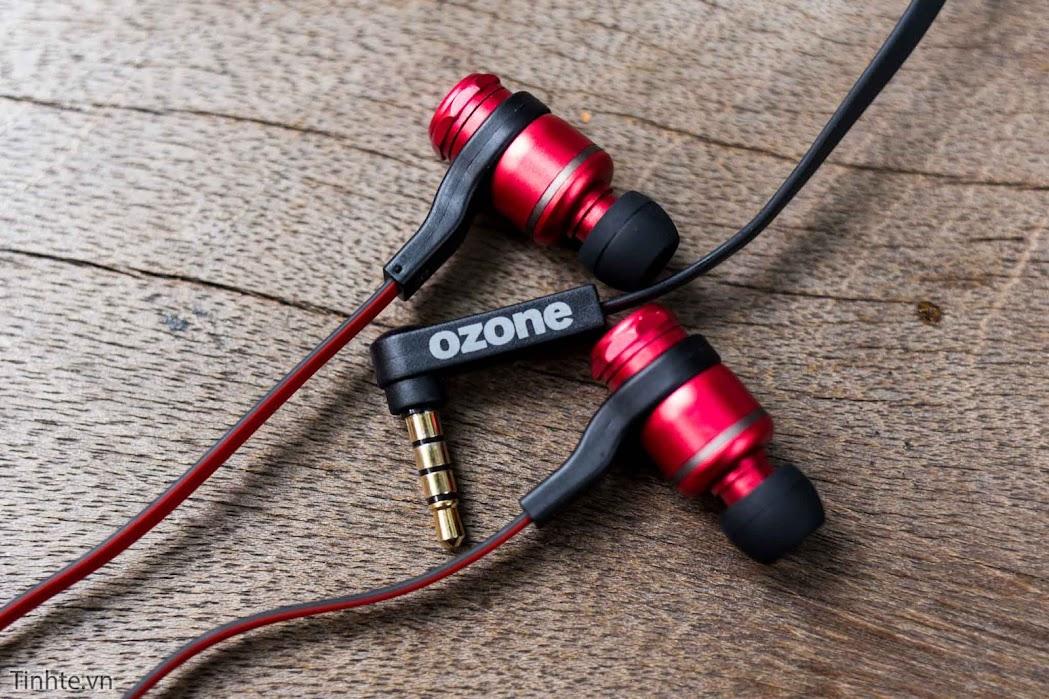 Trên tay tai nghe in-ear dành cho game thủ Ozone TriFX với 3 bộ EQ thay được, giá 990 ngàn
