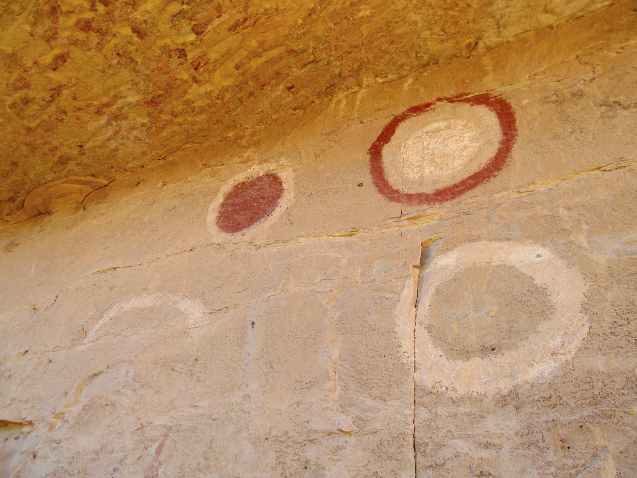 Photo: Kimball Draw pictographs