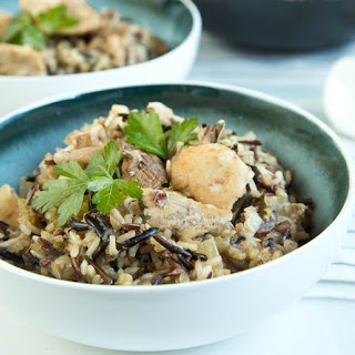 Slow-Cooker Chicken and Wild Rice Casserole