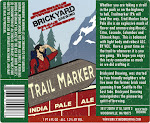 Brickyard Trail Marker IPA