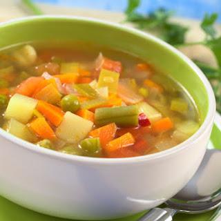 Negative Calorie Soup.