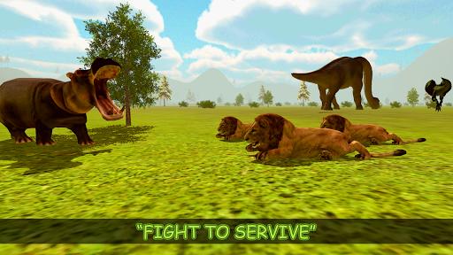 Real Dinosaur Simulator Games u2013 Dino Attack 3D 1.4 screenshots 5