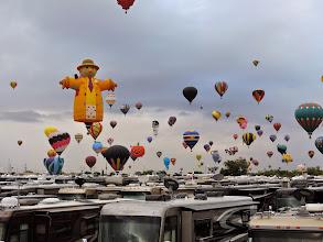Photo: mass balloons