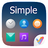 Simple II V Launcher Theme APK