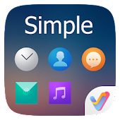 Simple II V Launcher Theme