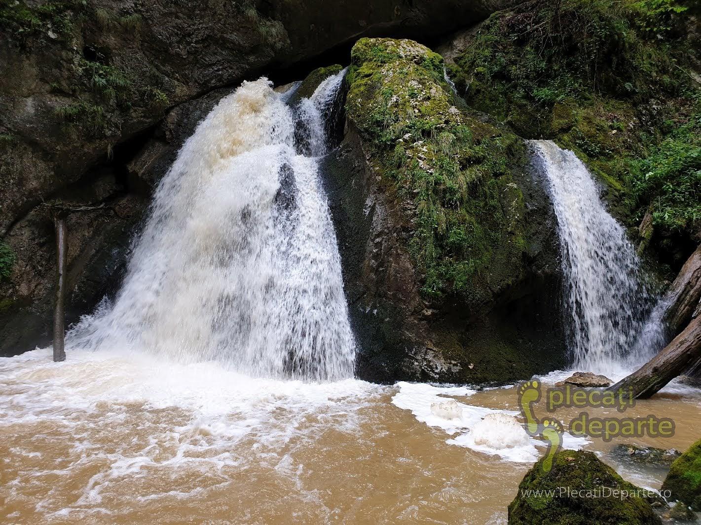 Cascada Evantai Apuseni, Cascada Evantai Padis, in Cheile Galbenei, Circuitul Cheile Galbenei, trasee padis apuseni, parcul natural apuseni obiective turitice,