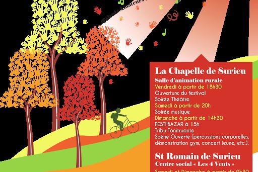 communication association - création d'affiche et de programme festival culturel