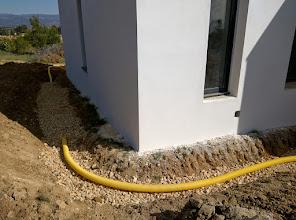 Photo: drainage rondom de woning