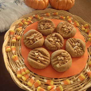 5-Ingredient Peanutty Pumpkin Cookies