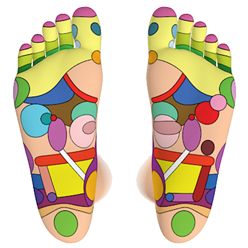 Foot Reflexology Chart for Android