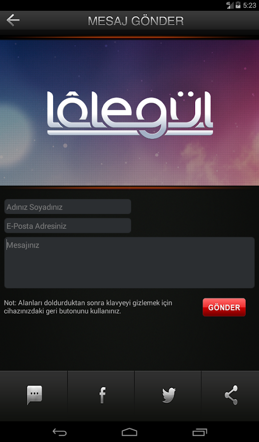 LALEGÜL TV- screenshot
