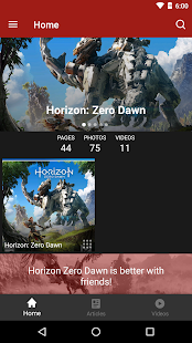 FANDOM for: Horizon Zero Dawn - náhled