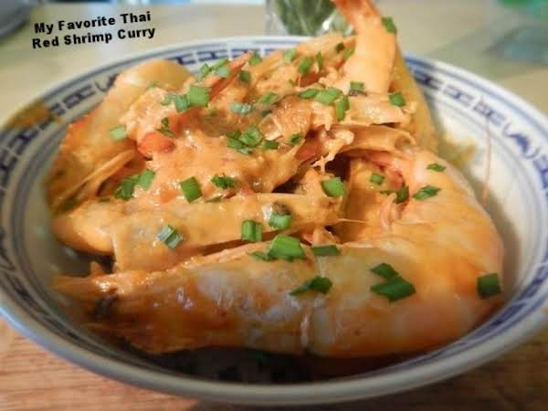 My Favorite Thai Red Shrimp Curry