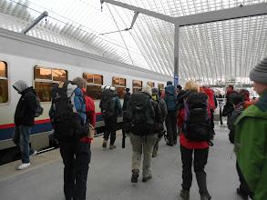 Photo: trein is er - op naar aywaille