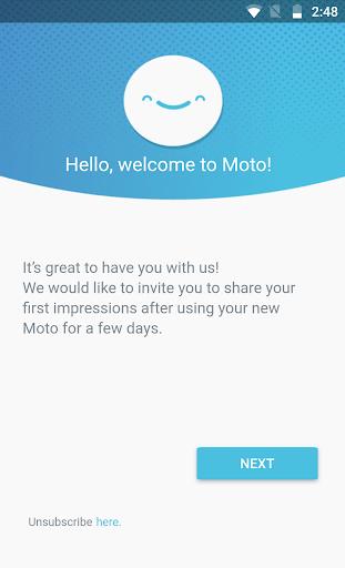 Motorola Notifications Varies with device screenshots 2