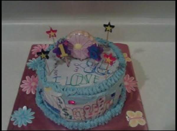 Edible Birthday Card Cake! Recipe
