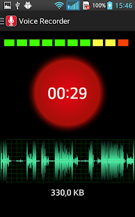 Voice Recorder: Easy Sound Recording+ Audio Player- screenshot thumbnail