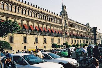 Photo: 1B080017 Meksyk - Ciudad de Mexico - jeszcze raz Pałac Narodowy