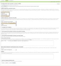 Photo: I18n y l10n al Español del producto PloneMeeting - Configuración de reunión - Editar opción Datos