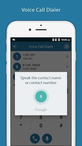 Voice Call Dialer - Voice Phone Dialer ss1