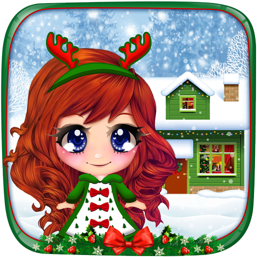 Baixar White Christmas House Decoration para Android