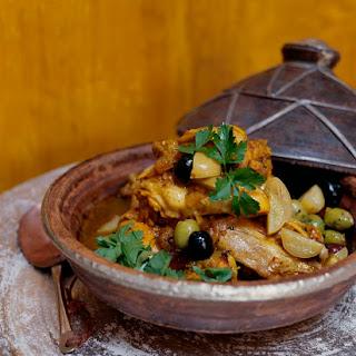 Moroccan Chicken and Onion Tagine Recipe with Djaj Beldi.