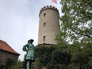 Photo: Die Sparrenburg in BI