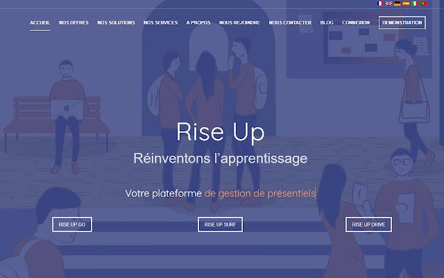 Rise Up virtual classrooom