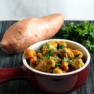 Chicken and Sweet Potato Curry.