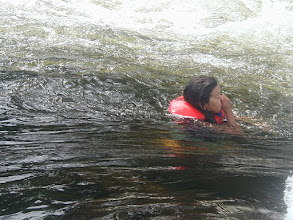 Photo: Going down the 5 Finger Rapids