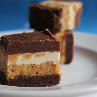 Caramel Nougat Brownies (Adapted from Better Homes & Gardens Magazine)