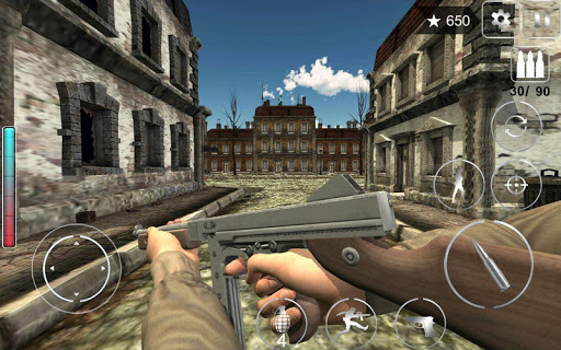 Call Of Courage : WW2 FPS Action Game apkdebit screenshots 5