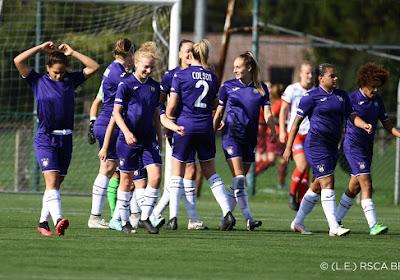 📷 🎥 Beelden van de 0-11 zege van de Anderlecht Vrouwen bij Zulte Waregem