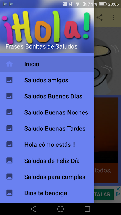 Frases Bonitas De Saludos Android приложения Appagg