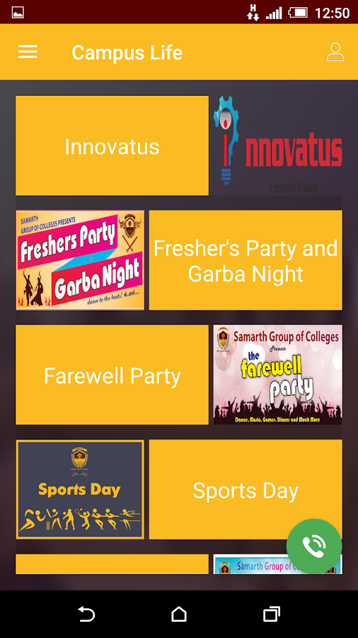 Samarth Group of Colleges- screenshot